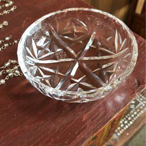 Vintage Crystal Dresser Dish for Sale in Siler City, NC