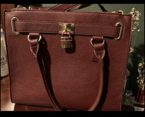 Charming Charlie burgundy large purse for Sale in Dallas, TX