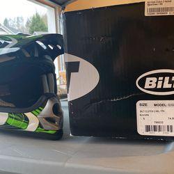 Kids Youth Dirt Bike BMX Gear And Helmet Bilt for Sale in Camas,  WA