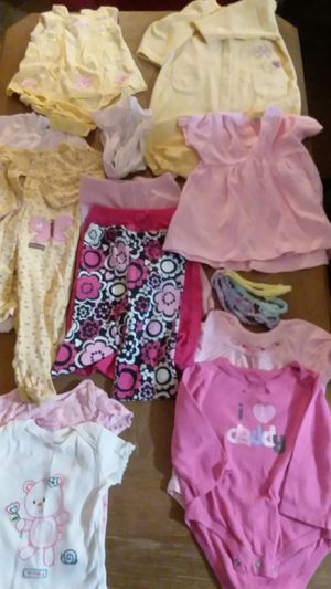 Baby clothes. 15 items, 6-9 mos. NO stains. for Sale in Columbus, OH