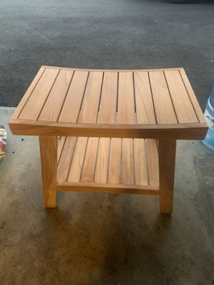 Teak bench for Sale in Fresno, CA