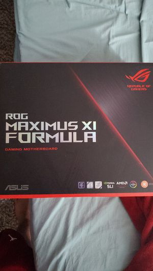 ROG MAXIMUS XI FORMULA Z390 HIGH END MOTHERBOARD for Sale in Los Alamitos, CA