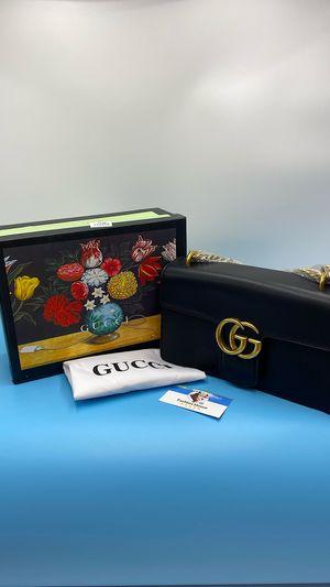 Black Leather GG Dionysus Chain Shoulder Crossbody Bag for Sale in Henderson, NV