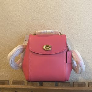 Coach Parker Convertible Backpack 16 Pink for Sale in Katy, TX