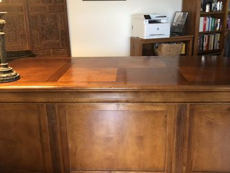 "Executive Desk / 76""X 36"" H:30"" for Sale in Bellevue,  WA"