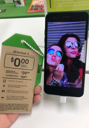 LG Fortune 2. Free once you port over! Offer only available in store. for Sale in Abilene, TX