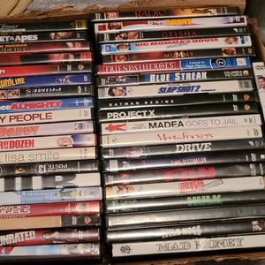 41 Dvds For $15( Pending Pick Up Today) for Sale in Davenport, FL