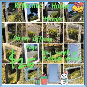 "Home House Reflective Wall Mirror ""New"" Any Small or Medium Mirror $25 for Sale in Monterey Park, CA"