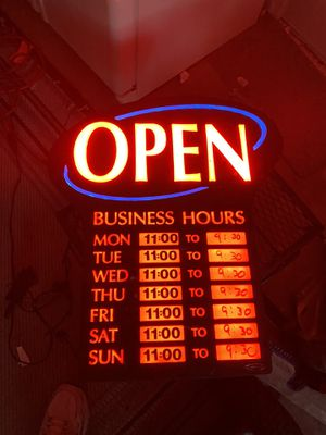 Neon business Open sign for Sale in Palm Harbor, FL