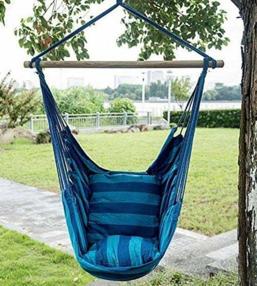 Backyard Hanging Hammock Chair Swing Seat Patio Furniture
