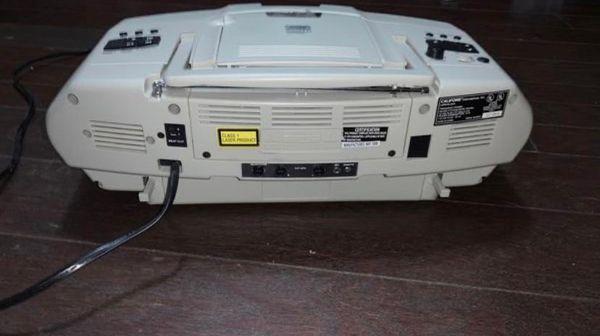 Califone CD player and radio