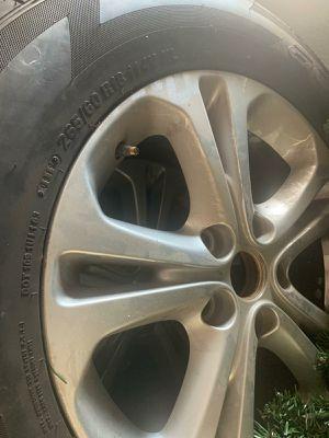 Dodge durango rims and tires for Sale in Arlington, TX