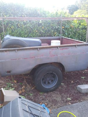 Ford Courier Bed Utility Trailer for Sale in Sweet Home, OR