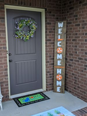 TN Welcome Home Front Porch Sign for Sale in Knoxville, TN
