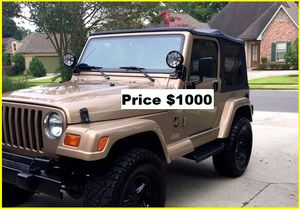 ֆ1OOO_1999 Jeep Wrengler for Sale in Los Angeles, CA