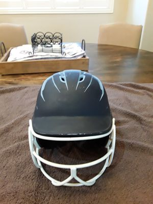 BOOMBAH DEFCON Matte Fade Sleek Profile, Lt Blue/Dk Blue w/Face Guard for Sale in Chandler, AZ