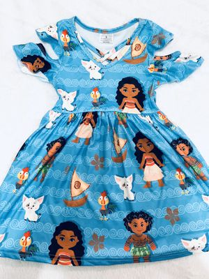 2t blue Moana dress for Sale in National City, CA