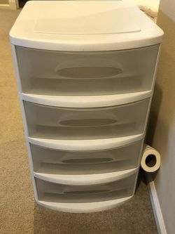 Sterile 4 Drawer, Plastic Drawer for Sale in Bothell,  WA