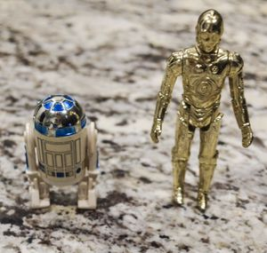 1977 Star Wars C3PO & R2D2 Action Figured for Sale in Southlake, TX