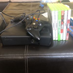 Xbox 360 With Some Games for Sale in Minneapolis, MN