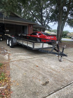 6.5 x 18ft dual axel trailer for Sale in Oviedo, FL