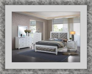 11pc Mackenzie bedroom set free mattress and delivery for Sale in Ashburn, VA