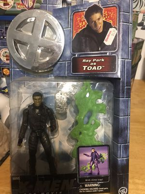 New from 2000 ray park as toad x-men figures retail $25 part of my collection decided to clean house great deals on rare toys. for Sale in Belleville, NJ