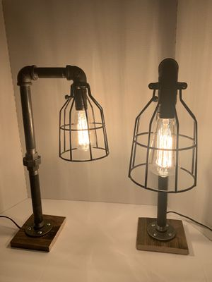 Industrial Table Lamps for sale! for Sale in Mammoth Spring, AR