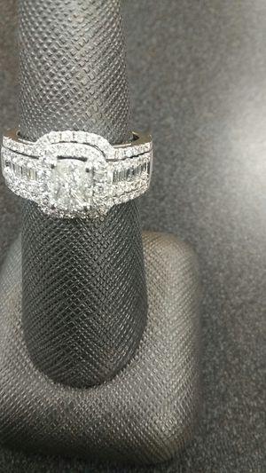 White 14k gold engagement ring for Sale in Marietta, GA
