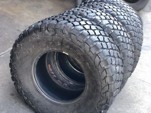 37/12.50R17 BFGoodRich tire (4 for $800) for Sale in Whittier, CA