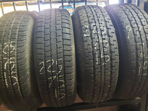 Used Tires 225 75 15 St Trailer for Sale in Fontana, CA