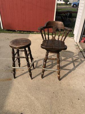 Old heavy bar stools for Sale in Pekin, IL