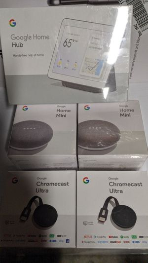 Google smart home Xmas package for Sale in Escalon, CA