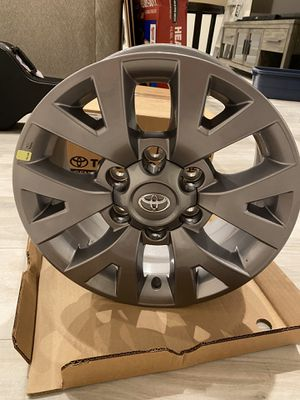 2019 Toyota Tacoma Gray Aluminum Wheel set- New in box for Sale in Plantation, FL