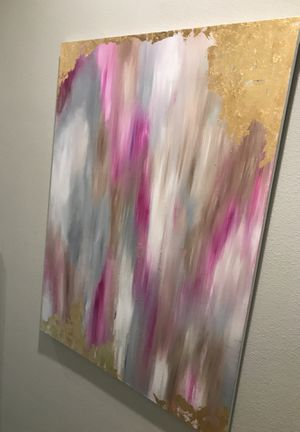 Abstract painting (2) of them for Sale in Dallas, TX