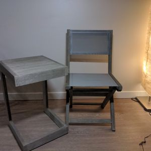 West elm Outside Table And Chair Set for Sale in Portland, OR