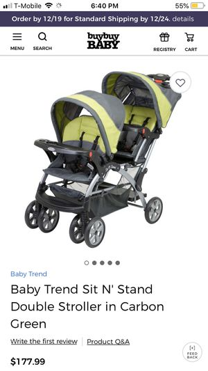 Babytrend double stroller for Sale in Brooklyn, NY
