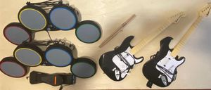 XBOX 360 ROCKBAND Instruments obo for Sale in Miami, FL