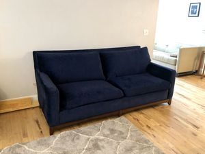 Hickory Chair Custom Velvet Couch Sofa for Sale in Vancouver, WA