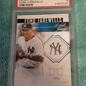 2014 Topps Update Derek Jeter Fond Farewell NY Yankees PSA 9 for Sale in Kissimmee, FL