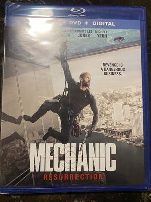 Mechanic Blu-ray digital Copy Only for Sale in San Diego, CA