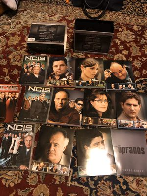 Complete Series of Sopranos DVD's Set and 4 Season of N C I S DVDs for Sale in Conyers, GA