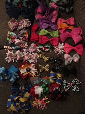 Girls hair bows and headbands for Sale in Norwalk, CA
