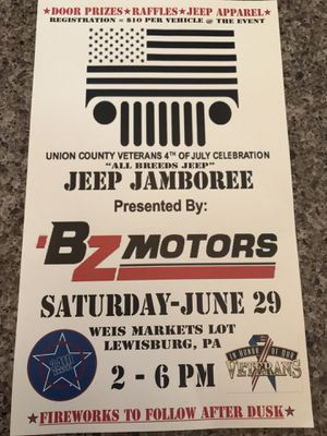 Jeep Jamboree for Sale in Montgomery, PA