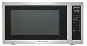 KitchenAid - 2.2 Cu. Ft. Microwave with Sensor Cooking - Stainless steel Model:KMCS3022GSS plus Model:MK2227AS for Sale in Pompano Beach, FL