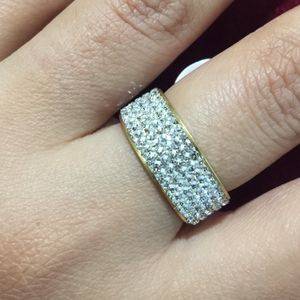 Gold plated stainless steel ring size 8 for Sale in Silver Spring, MD