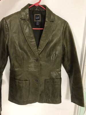 Women's leather blazer for Sale in Foster City, CA