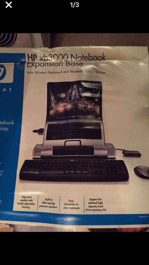 HP XB3000 Notebook Expansion Base