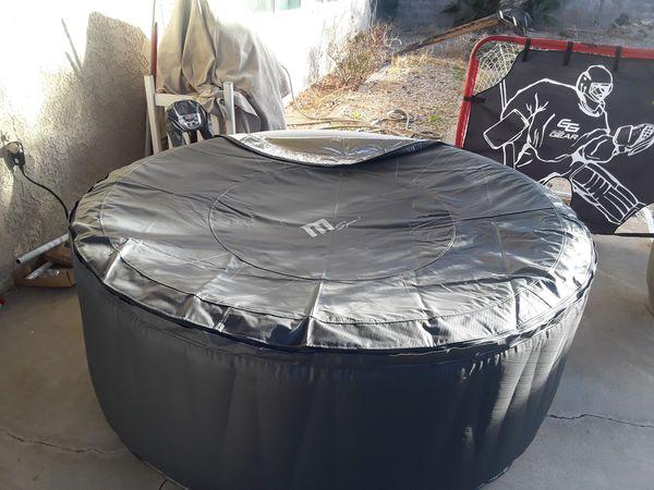 Aurora Inflatable hot tub