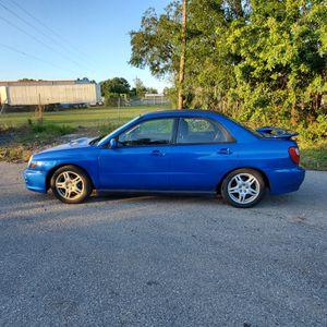 2002 Subaru Impresa wrx for Sale in Orlando, FL